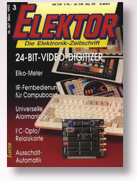 Applikator l2C-Grafik-LC-Display: Heft Nr. 266. 02/93. S. 63