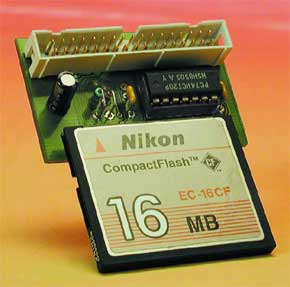 Compact-Flash-Interface für Mikrocontroller
