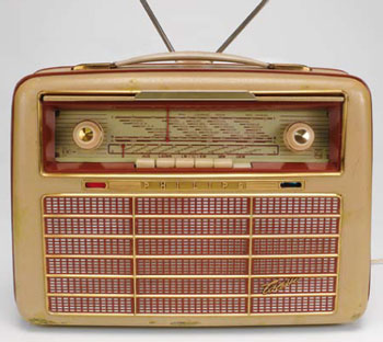 "Philips ""Colette"" Kofferradio (1956)"