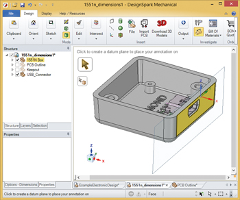 DesignSpark Mechanical CAD Tipps & Tricks (2)