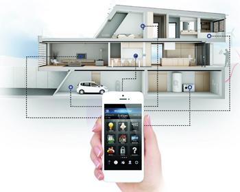 haus automatisierung elektor magazine. Black Bedroom Furniture Sets. Home Design Ideas