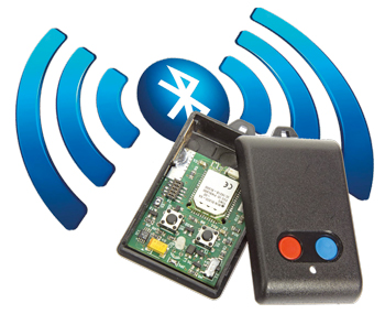 Fernbedienung mit Bluetooth Low Energy