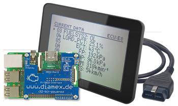 OBD2-Handheld mit dem Raspberry Pi