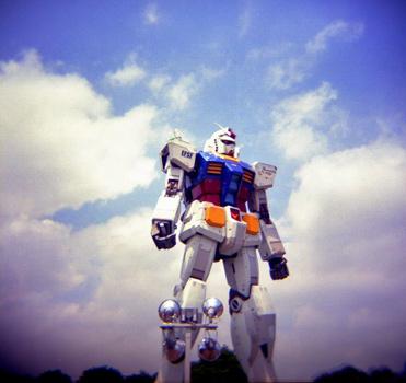 Gigantischer Gundam-Roboter in Japan geplant