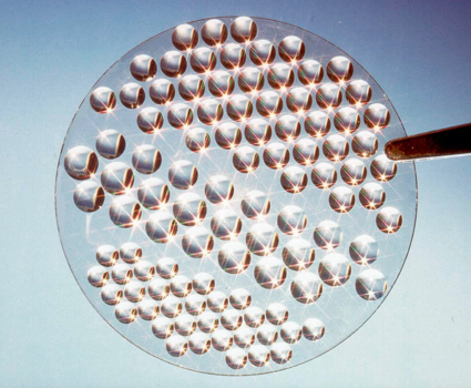 Synthetischer Diamant als Ersatz für Kupfer