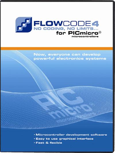 """Neue Features und Bugfixes: Flowcode 4.5 für alle """"Flowcode 4.X für PIC""""-User gratis!"""