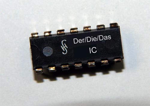 Der/Die/Das IC: Wer hat's erfunden?