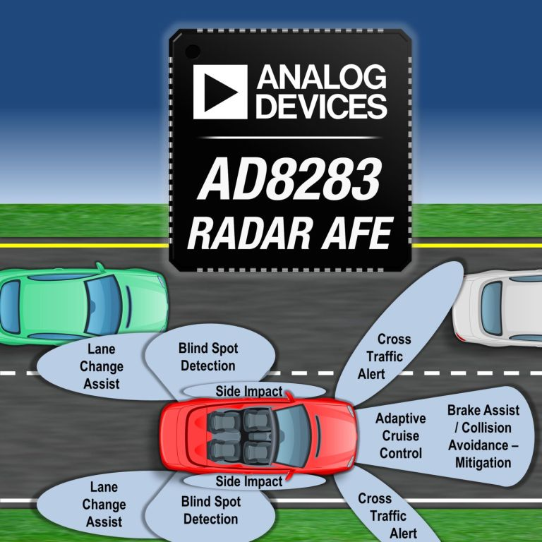 Neues IC für Radarsensoren