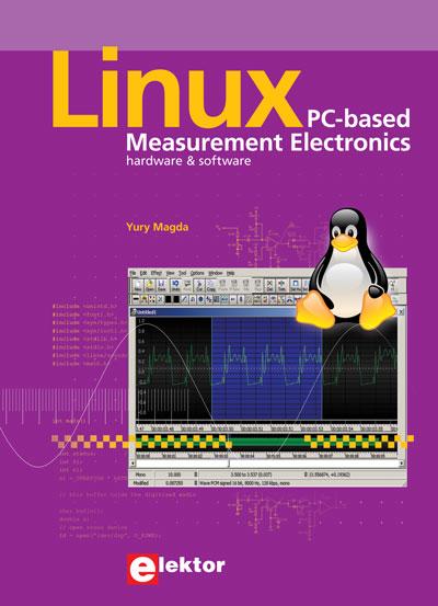Exklusiv für E-weekly-Leser: Neues englisches Fachbuch zur Messtechnik mit Linux bis 08.0