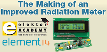 Gratis-Webinar ''The Making of an Improved Radiation Meter'' am 16.02.2012