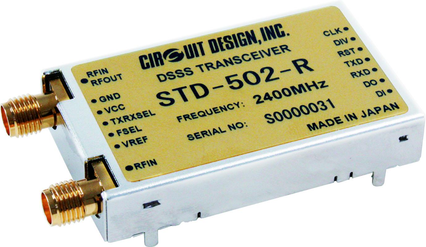 2,4-GHz-Funktransceiver-Modul für Industrieanwendungen