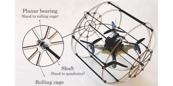 HyTAQ: Roboter fährt, fliegt und springt
