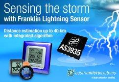 Weltpremiere: Erster Blitz-Sensor hat 40 km Reichweite