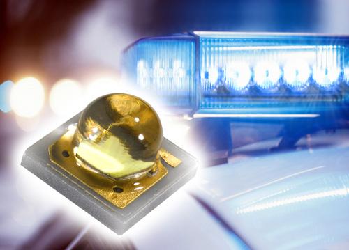 Blaue LEDs für Blaulicht