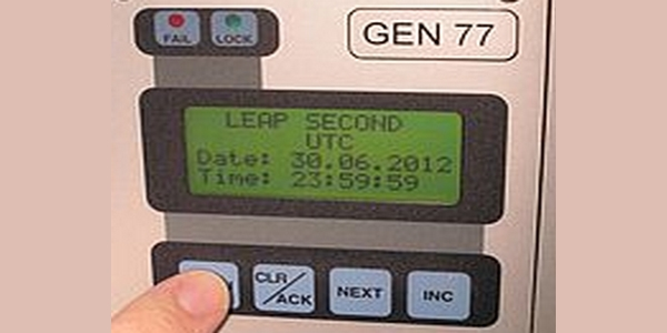 Schaltsekunde am 1. Juli 2012