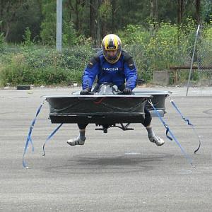 Ein-Mann-Fluggerät: Mit 280 km/h durch die Luft