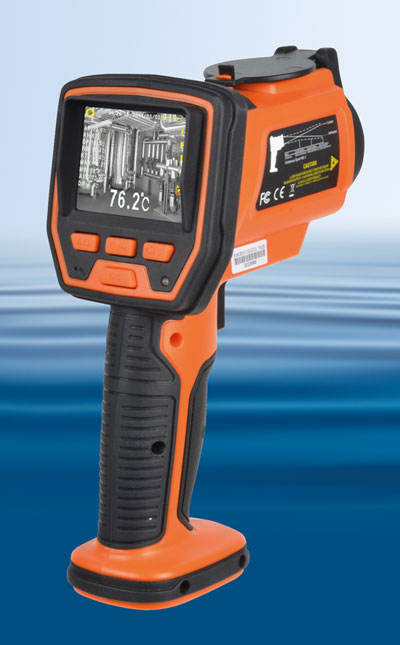 Kamera mit Infrarot-Thermometer