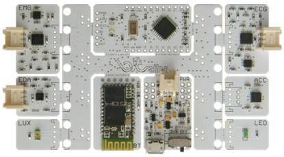 Biosignal-Sensor-Kit für Selbstbau-Projekte
