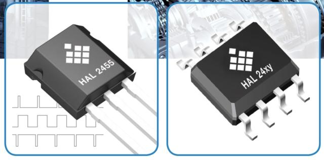 Programmierbarer linearer Hall-Sensor