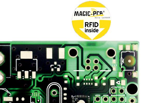 Platinen mit kostenlosem RFID-Tag