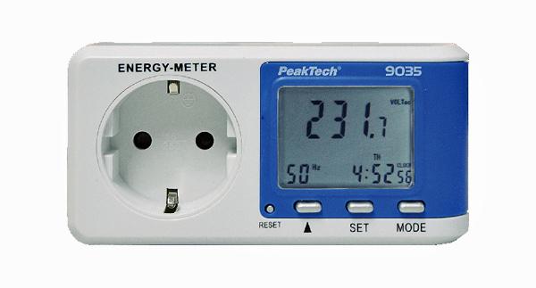 PEAKTECH 9035: Preiswertes und empfindliches Energiemessgerät