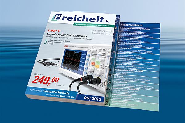 Reichelt: Neuer Katalog mit günstigem Oszilloskop