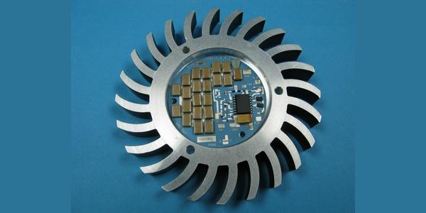 LED-Modul mit integriertem Netzteil