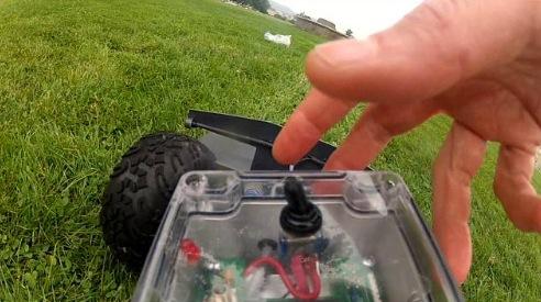 Roboter auf Zeckenjagd