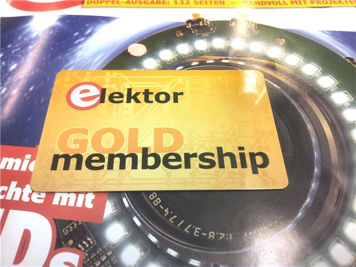 Aktuelles Doppelheft mit RFID/NFC-Member-Card für alle Mitglieder!