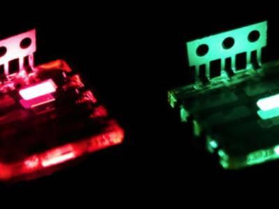 Helle LEDs aus Perowskit