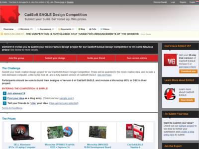 Gewinner des Eagle Design-Wettbewerbs