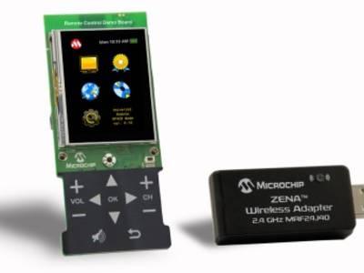 Funk-Fernbedienung mit Touchscreen
