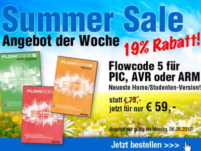 SUMMER SALE | Angebot der Woche | Neue Flowcode-Version jetzt 19% günstiger