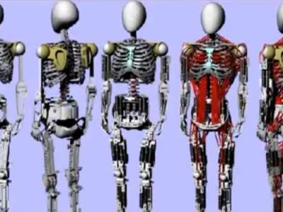 Kenshiro: Roboter mit Muskeln und Skelett
