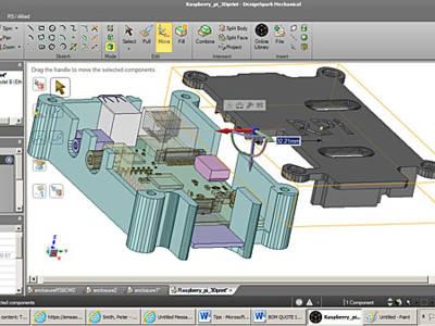 Kundenwettbewerb mit DesignSpark Mechanical