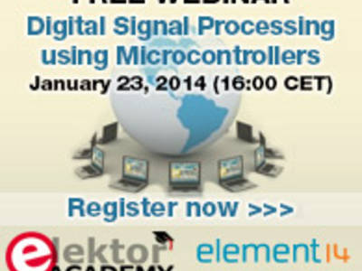 Webinar: Digital Signal Processing using Microcontrollers