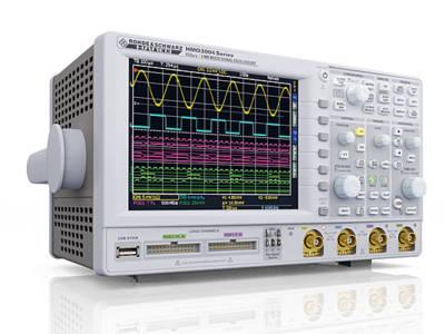 Neue MSOs von HAMEG mit bis zu 500 MHz Bandbreite