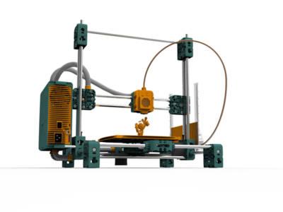 fabbster: präziser 3D-Drucker auf der CeBIT