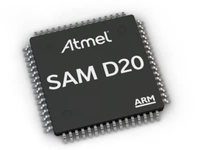 ARM Cortex M0+ Mikrocontroller von Atmel