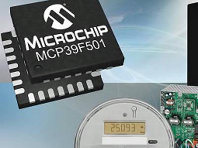 IC zur Leistungsmessung von Microchip