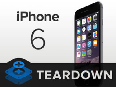 iPhone 6 komplett zerlegt