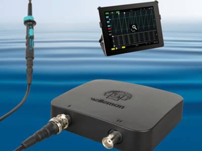 Mobiles Oszilloskop mit WLAN
