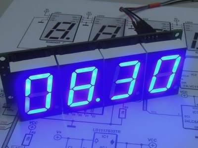 IoT-Uhr RGBdigit – die ultimative Uhr mit 7-Segment-Display?