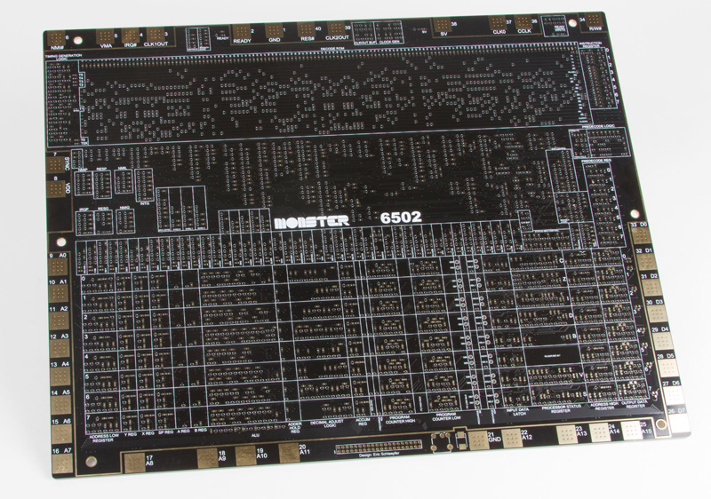 Frankenstein-Prozessor: MOnSter 6502