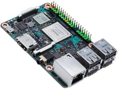 Raspberry-Pi-Clone mit 1,8 GHz und 32-bit-Quad-Core
