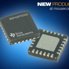 Mouser Stocking TI's Ultra-Low-Power MCUs with 'CapTIvate Touch Tech'