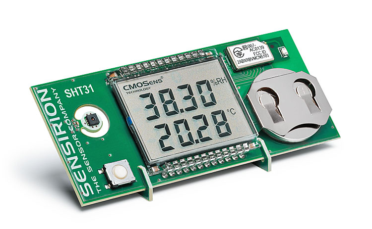 Entwicklungskit von Sensirion für eigene Projekte mit drahtlosen Feuchte- und Temperatursensoren