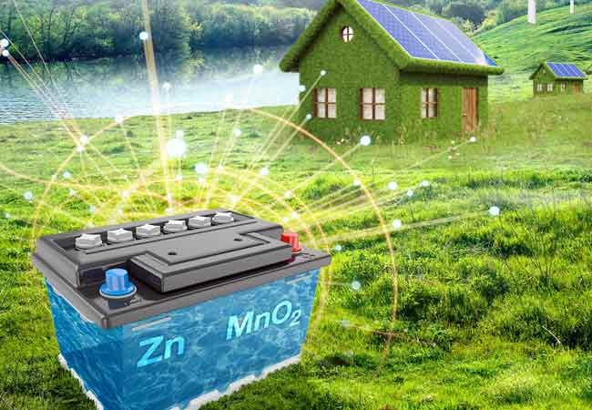 Preiswerte ZnMnO2-Akkus mit hoher Lebensdauer. Bild: PNNL