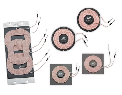 Mit seinen elektronischen Komponenten – allein mehr als 42 verschiedene Spulen – ist Würth Elektronik eiSos der Hersteller mit dem breitesten Bauteilspektrum für kabelloses Laden.