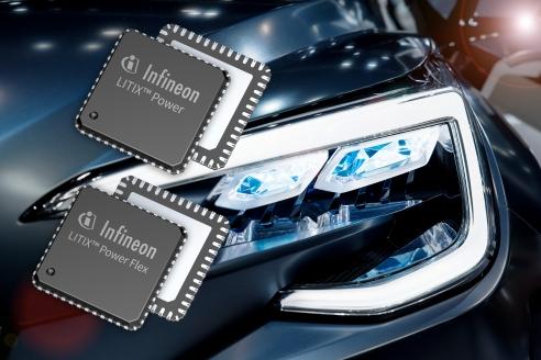 Kompakte Treiber für LED-Frontscheinwerfer